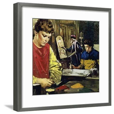 Jan and His Brother Herbert Van Eyck Began Life Apprenticed to a Local Painter-Luis Arcas Brauner-Framed Art Print