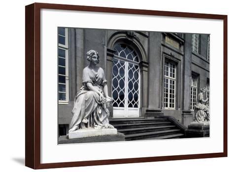 Facade onto Garden of Seneffe Castle, 1763-1768-Laurentius Benedictus Dewez-Framed Art Print