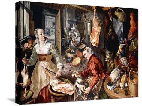 The Four Elements-Joachim Beuckelaer-Stretched Canvas Print