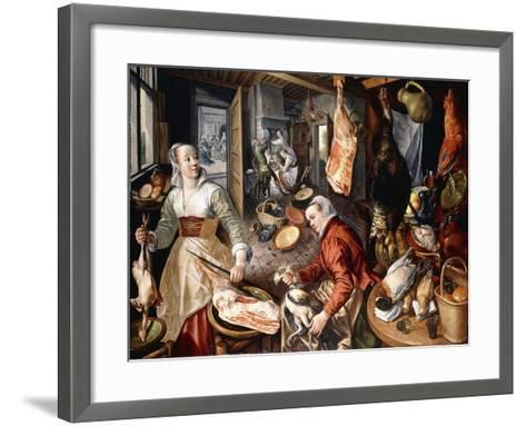 The Four Elements-Joachim Beuckelaer-Framed Art Print