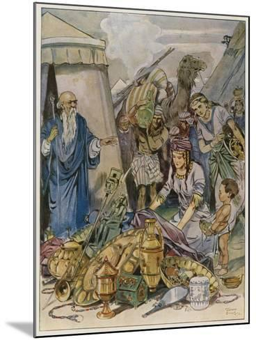And They Came Both Men and Women, as Many as Were Willing-Hearted, and Brought Offerings-Tony Sarg-Mounted Giclee Print