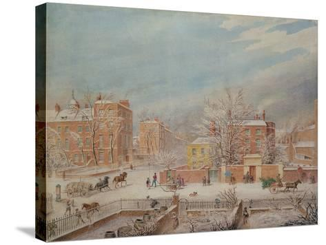 Marylebone Road at the Junction with Lisson Grove and Stingo Lane-T. Paul Fisher-Stretched Canvas Print