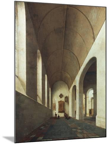 St Anthony Chapel in St John's Church in Utrecht, 1645-Pieter Jansz Saenredam-Mounted Giclee Print