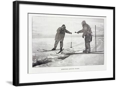 Improvised Sounding Tackle-Roald Amundsen-Framed Art Print