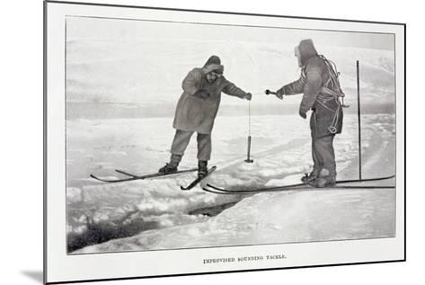 Improvised Sounding Tackle-Roald Amundsen-Mounted Giclee Print