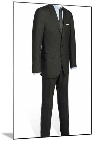 Two-Piece Serge Suit with Light Blue Rope-Stripe, Worn by Daniel Craig in the Film 'Skyfall', 2012--Mounted Photographic Print