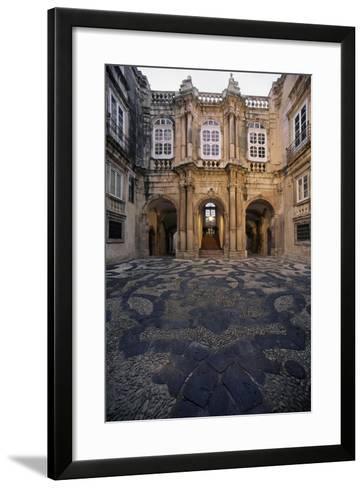 Italy, Siracusa, Ortigia Island, View of Facade of Palazzo Beneventano Del Bosco--Framed Art Print