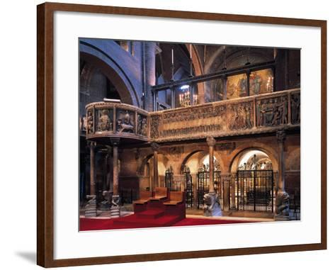 Metropolitan Cathedral of Saint Mary of the Assumption and St Geminiano, Ambo--Framed Art Print