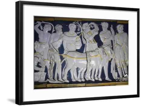 Allegories Inspired by Mythology Related to Lorenzo De' Medici and His Circle--Framed Art Print