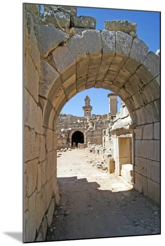 View Through the Vaulted Entrance of the Xanthos Theatre into the Orchestra Pit--Mounted Photographic Print