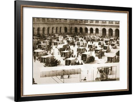 A Splendid Gift: Ninety Motor Ambulances for the French Army Medical Service--Framed Art Print