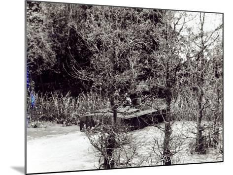 A River Patrol Boat Beaches to Land a Us Navy Seal Team in the Jungle to Hunt Viet Cong--Mounted Photographic Print