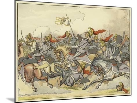 """Where Every Horse Bears His Commanding Rein, and May Direct His Course as Please Himself""""--Mounted Giclee Print"""