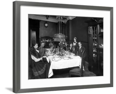 One of the Many Charitable Organisations Working for the War Effort--Framed Art Print