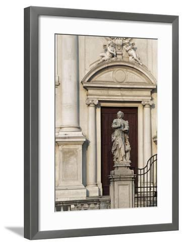 Italy, Friuli-Venezia Giulia, Udine, Facade of Sant Antonio Abate Church--Framed Art Print