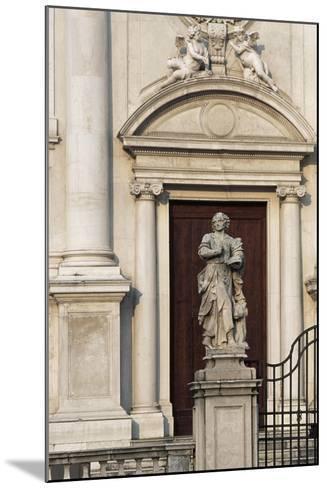 Italy, Friuli-Venezia Giulia, Udine, Facade of Sant Antonio Abate Church--Mounted Giclee Print