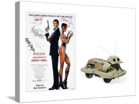 Snooper Dog Robot Model Used by Q in the Film 'A View to a Kill'--Stretched Canvas Print