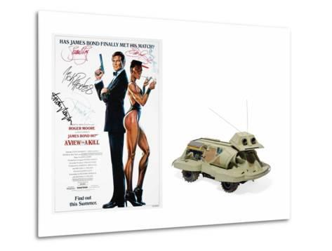 Snooper Dog Robot Model Used by Q in the Film 'A View to a Kill'--Metal Print