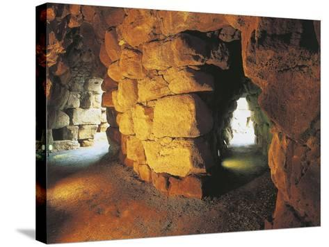 Italy, Archaeological Complex of Nuraghe Sant'Antine or Sa Domo De Su Re--Stretched Canvas Print