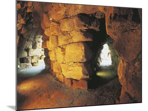 Italy, Archaeological Complex of Nuraghe Sant'Antine or Sa Domo De Su Re--Mounted Photographic Print