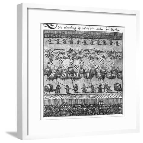 Tactical Use of Artillery: Direct Firing--Framed Art Print