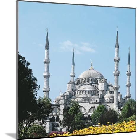 Mosque of Sultan Ahmet I known as Blue Mosque--Mounted Photographic Print