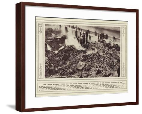 The Insane Movement Which Has Cost Dublin About £2--Framed Art Print