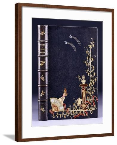 Upper Book Cover of Two Shooting-Stars--Framed Art Print