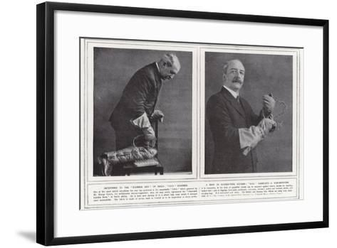 Impervious to the Business End of Nails--Framed Art Print