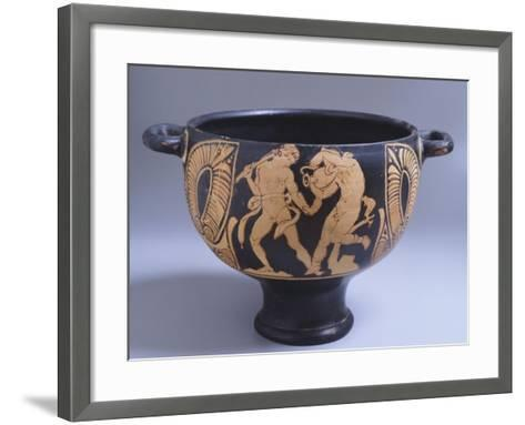 Skyphos Attributed to the Spina Painter--Framed Art Print