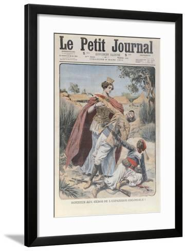 Honour to the Heros of Colonial Expansion--Framed Art Print