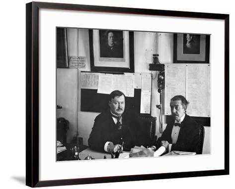 Director of the St. Petersburg Conservatoire--Framed Art Print