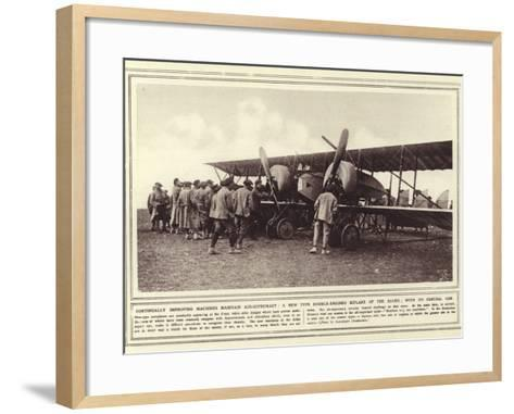Continually Improving Machines Maintain Air-Supremacy--Framed Art Print