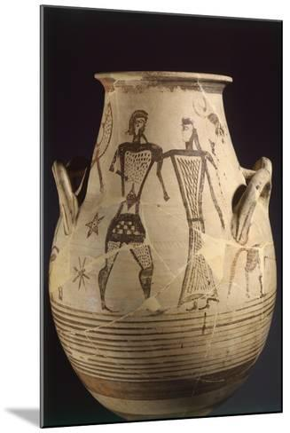 Biconical Krater by the Painter of the Eptacordo--Mounted Giclee Print