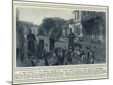 A Turk's Kindness to the Harmless--Mounted Photographic Print