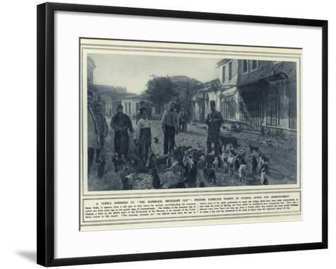 A Turk's Kindness to the Harmless--Framed Art Print