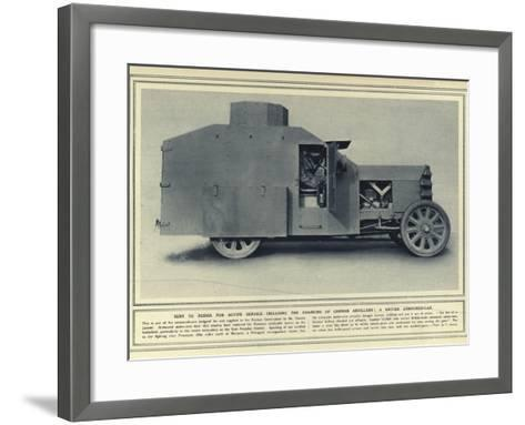 Sent to Russia for Active Service--Framed Art Print