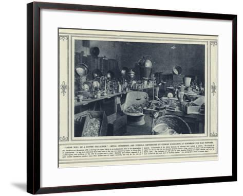 There Will Be a Copper Collection--Framed Art Print