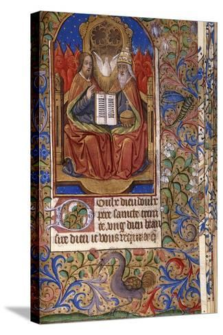 A Miniature from a Book of Hours--Stretched Canvas Print