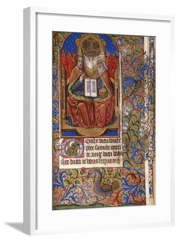 A Miniature from a Book of Hours--Framed Art Print