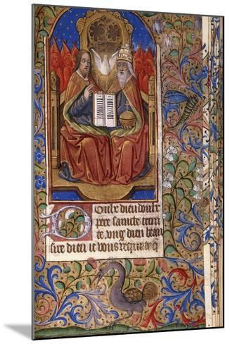 A Miniature from a Book of Hours--Mounted Giclee Print