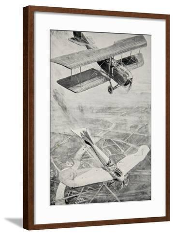 The 'Hawk' and the 'Dove'--Framed Art Print