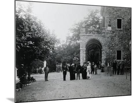 Giuseppe Verdi at His Birth House--Mounted Photographic Print