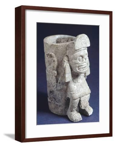 Vase Depicting Mictlantecuhtli--Framed Art Print