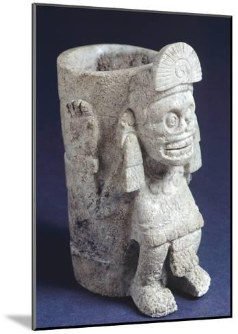 Vase Depicting Mictlantecuhtli--Mounted Giclee Print