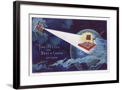 Time Tested and Best on Earth'--Framed Art Print