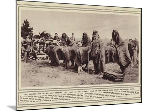 The Lighter Side of Military Training--Mounted Photographic Print