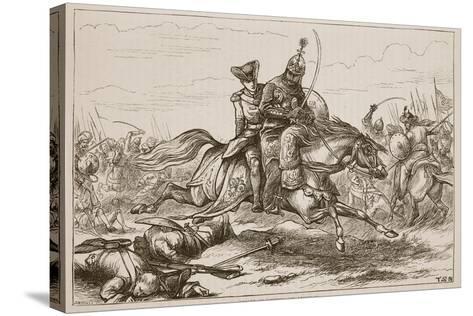 Escape of Lieutenant Goreham--Stretched Canvas Print
