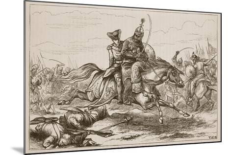 Escape of Lieutenant Goreham--Mounted Giclee Print