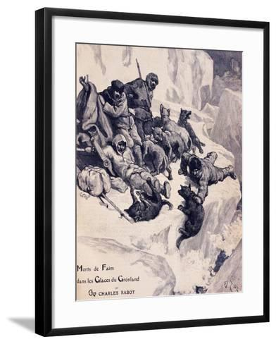 Starving to Death on Ice in Greenland--Framed Art Print